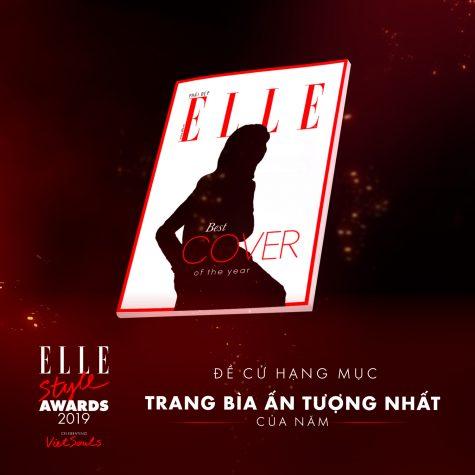 elle style awards - best cover