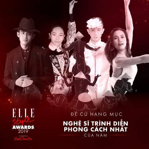 elle style awards - performing artist