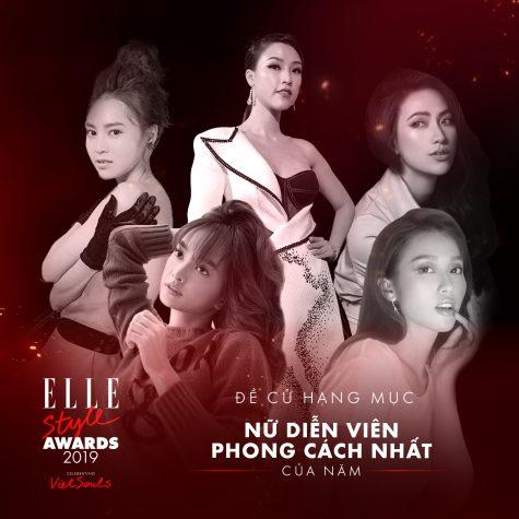 elle style awards 2019 - hạng mục nữ diễn viên