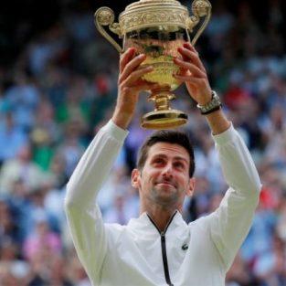 Novak Djokovic lên ngôi vương tại Wimbledon 2019