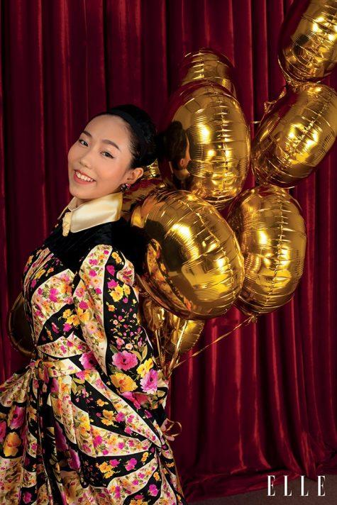 nghệ sĩ múa Minh Anh ELLE Mag