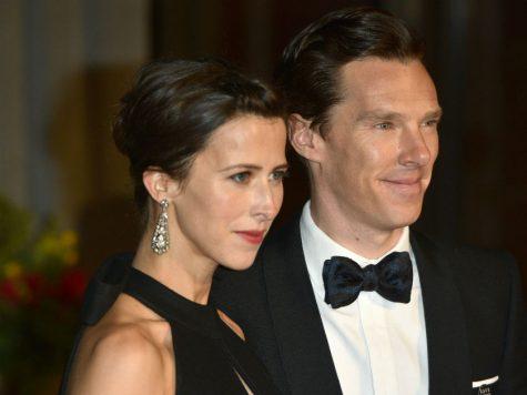 Benedict và vợ Sophie Hunter. Ảnh: Celebshow