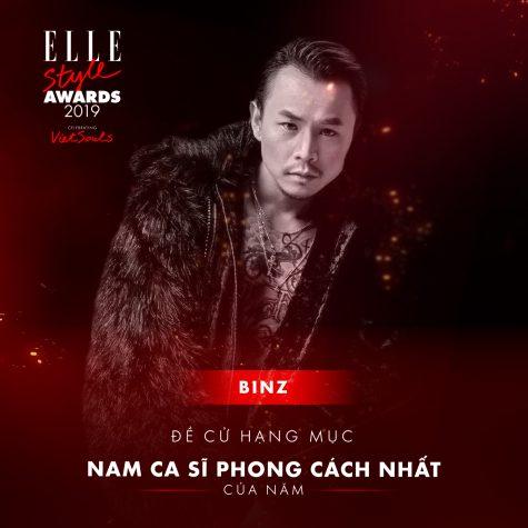 elle style awards 2019-Binz