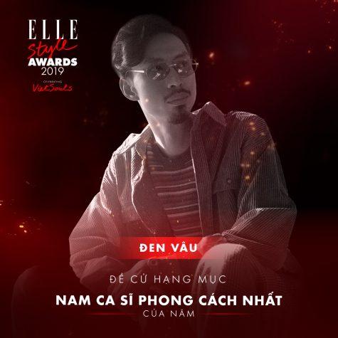 elle style awards 2019-Đen Vâu