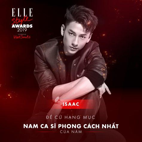 elle style awards 2019-Isaac