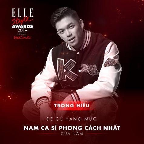 elle style awards 2019-Trọng Hiếu