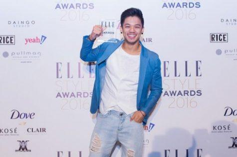 elle style awards 2019-Trọng Hiếu thảm đỏ