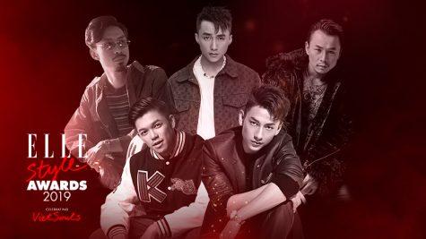 ELLE Style Awards 2019: Danh sách đề cử hạng mục Nam ca sĩ phong cách của năm