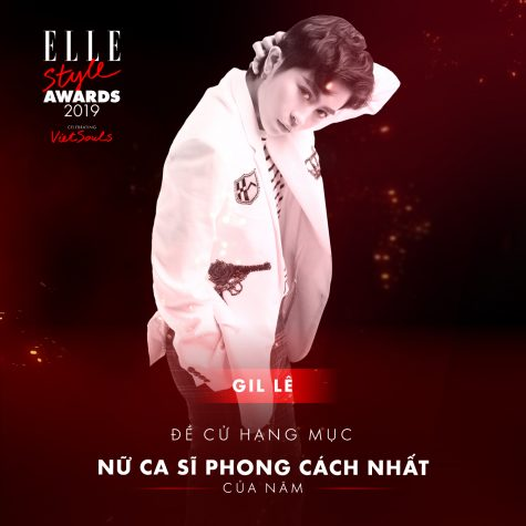 elle style awards 2019 - nữ ca sĩ Gil Lê