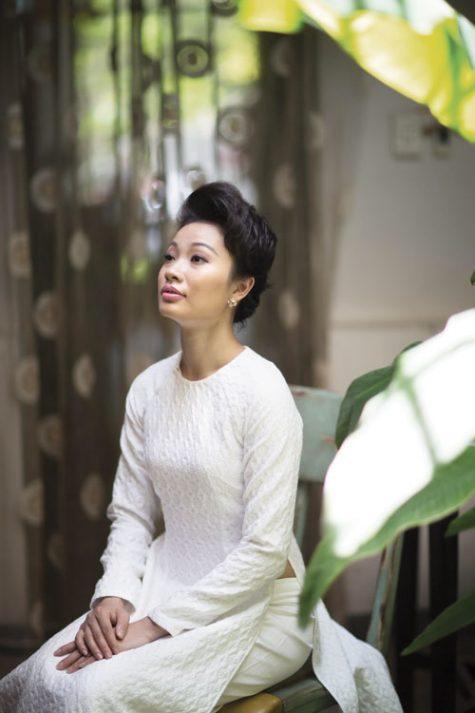 nghệ sĩ múa Tạ Thuỳ Chi - elle man
