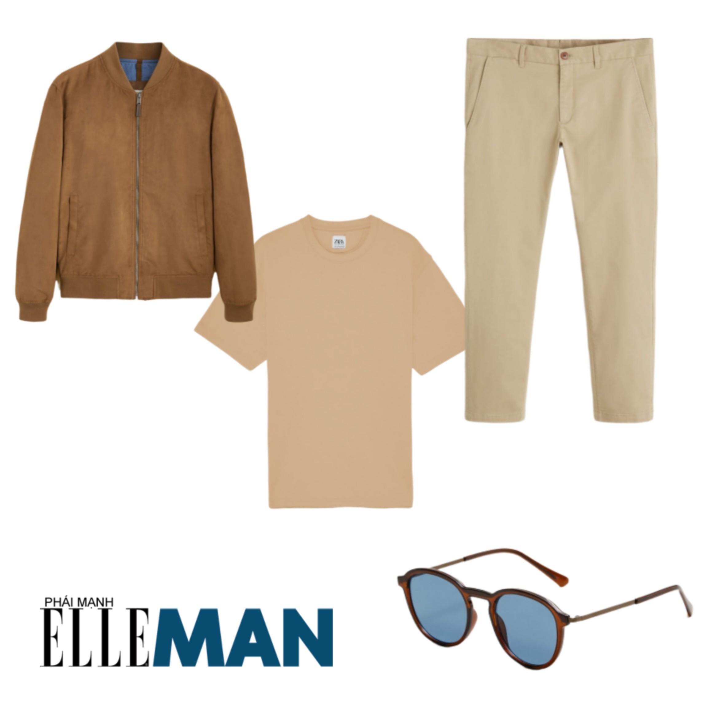 Trang phục đi biển ELLE Man gợi ý trang phục cho một buổi dạo chơi trên biển
