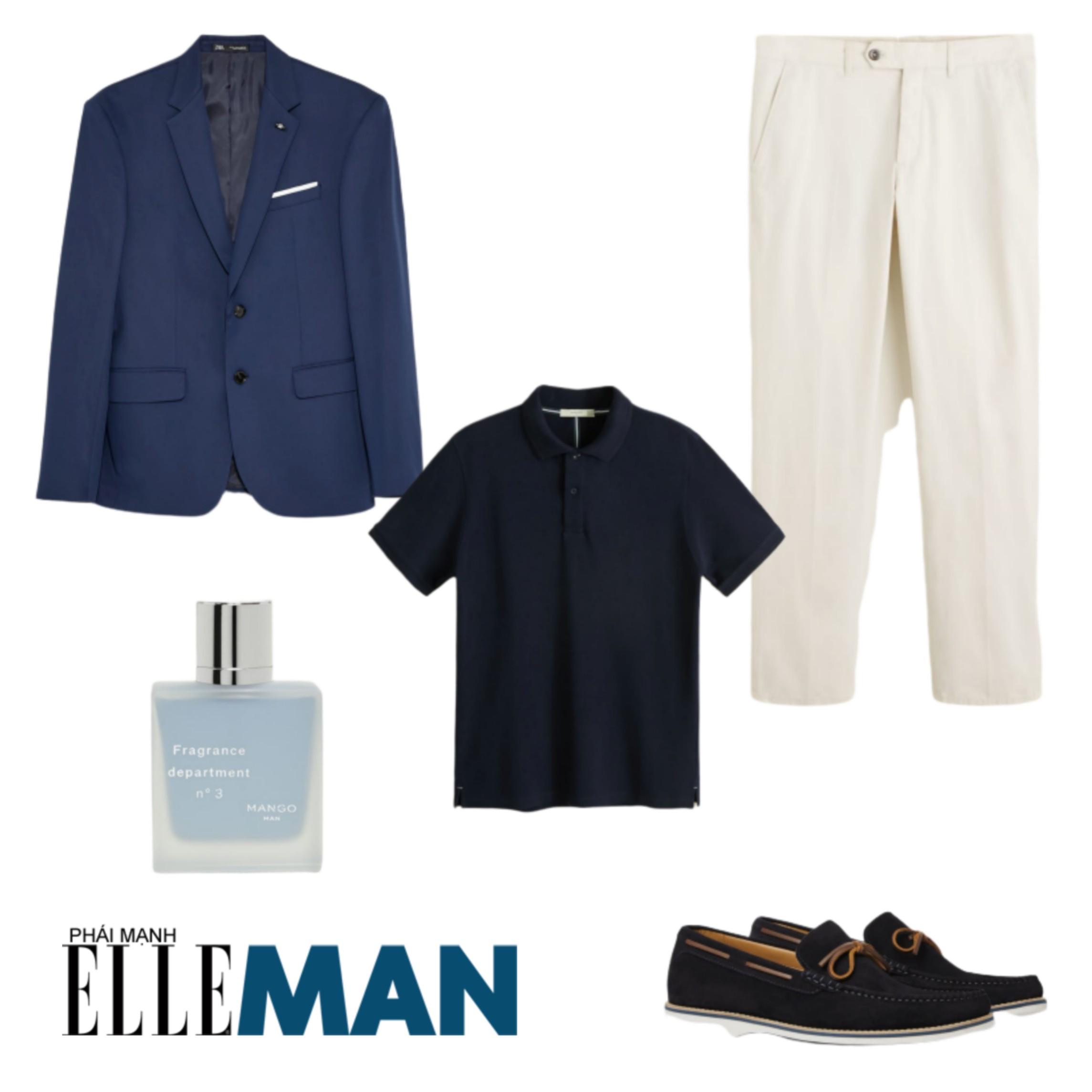 Trang phục đi biển ELLE Man gợi ý trang phục cho buổi tối lãng mạn