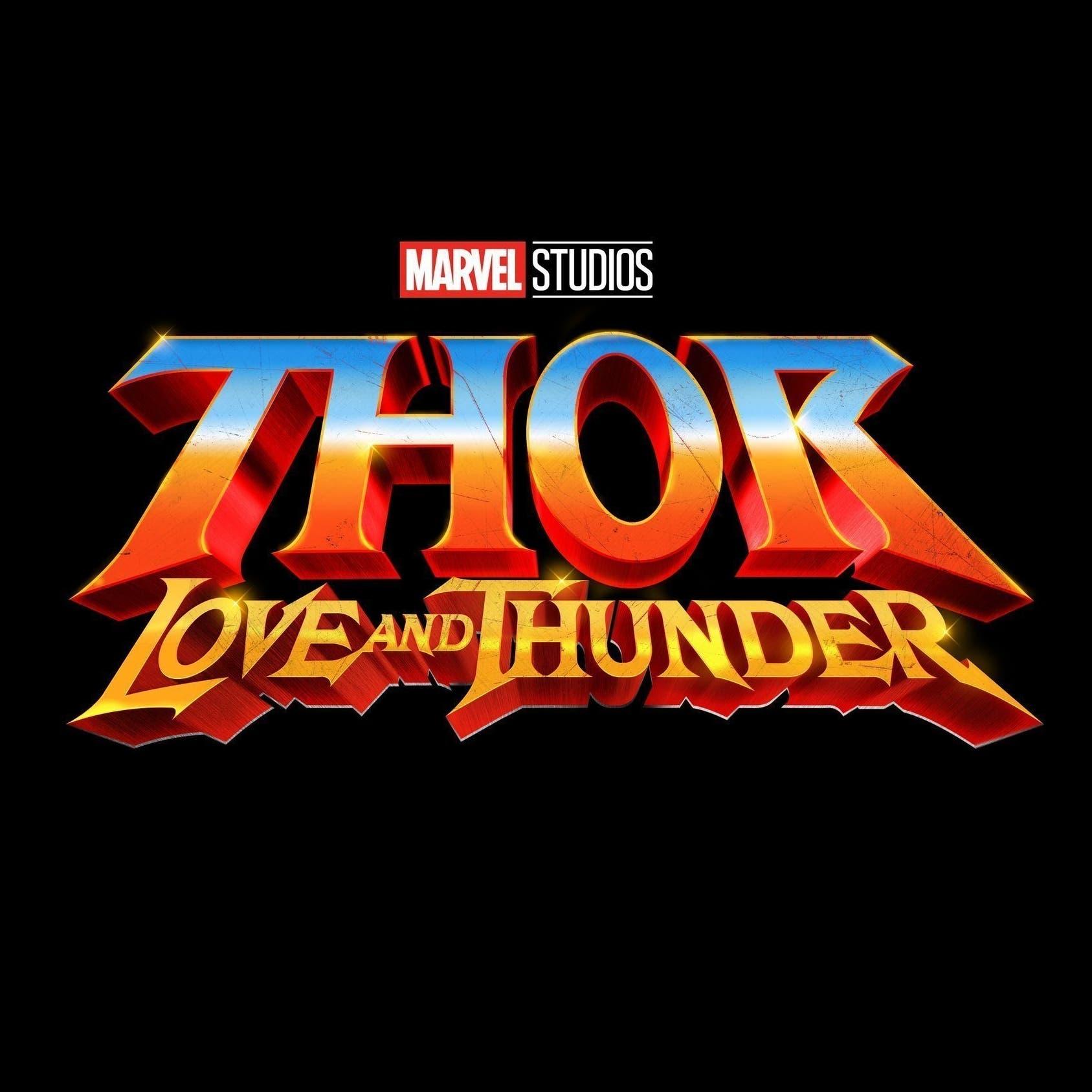 Logo Thor 4 - Vũ trụ Marvel - ELLE Man