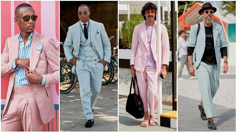 Màu sắc pastel sắc màu tràn ngập sự kiện Pitti Uôm 2019
