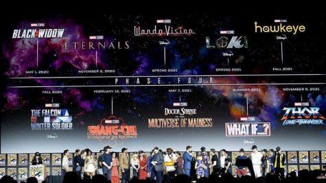 Phase 4 Kỷ nguyên anh hùng vũ trụ Marvel chính thức công bố