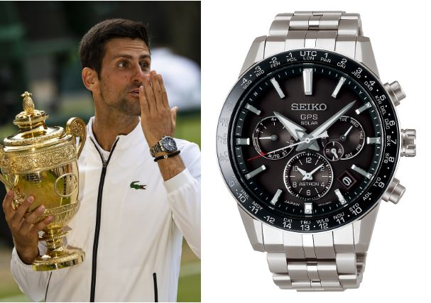 mẫu đồng hồ nam-Novak Djokovic Seiko Astron GPS Solar