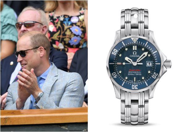 mẫu đồng hồ nam-Prince William Omega Seamaster