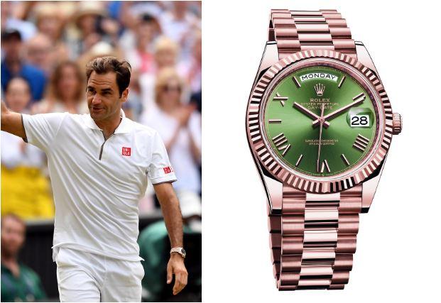 mẫu đồng hồ nam-Rolex Day-Date Roger Federer