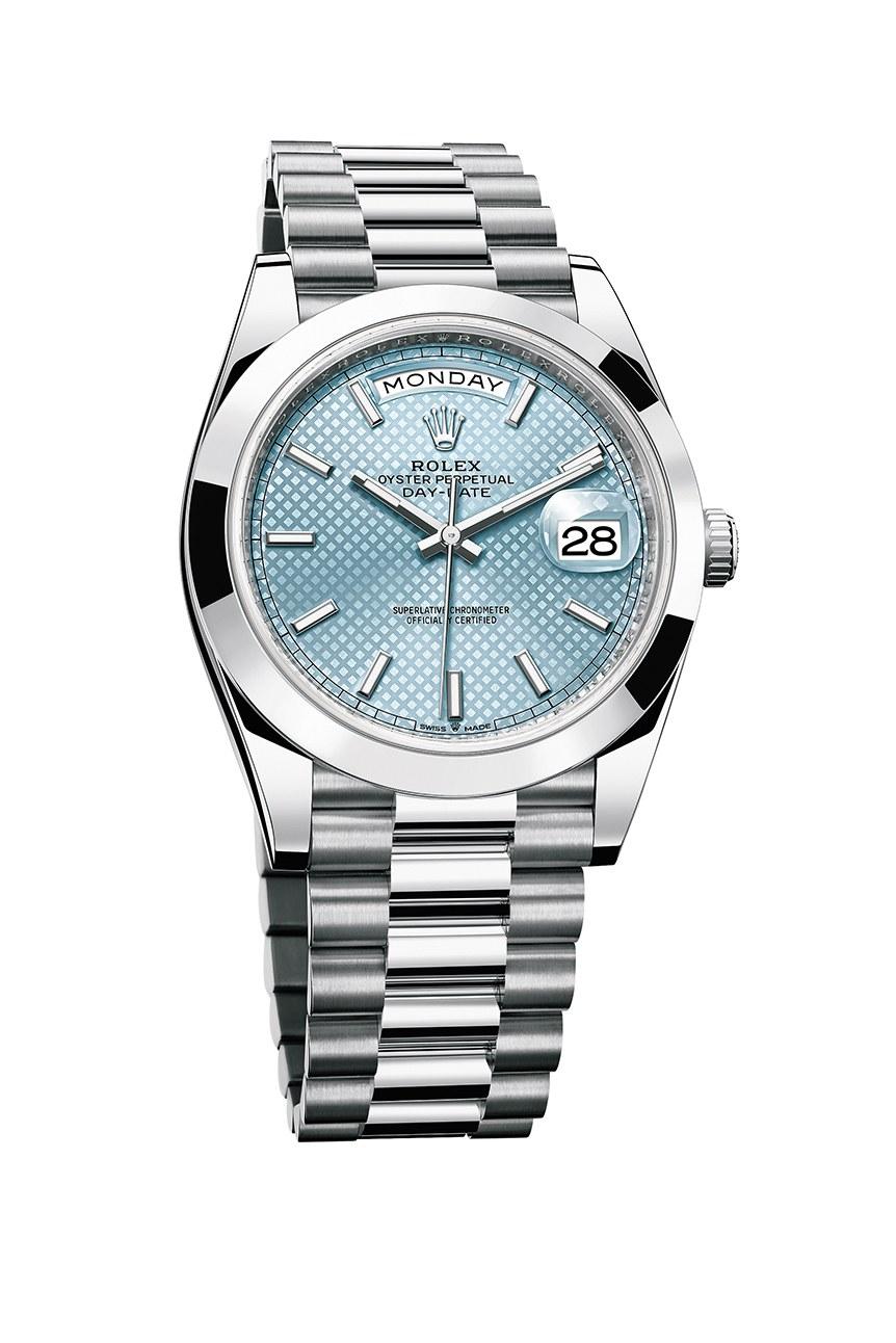 đồng hồ nam Rolex Platinum Day Date