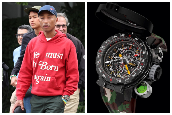 mẫu đồng hồ nam-pharrell williams Richard Mille RM 25-01 Tourbillon Adventure