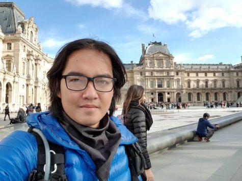 Tạo bảo tàng Louvre, thủ đô Paris, Pháp.