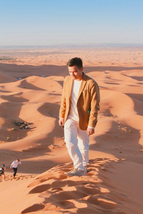 Lý Thành Cơ tại sa nạc Sahara