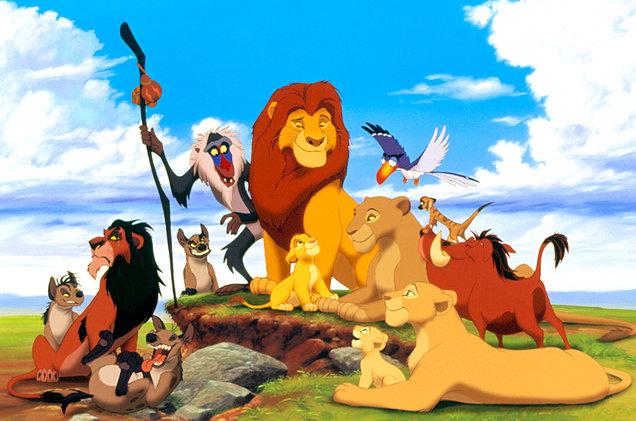 vua sư tử-lion king phiên bản hoạt hình