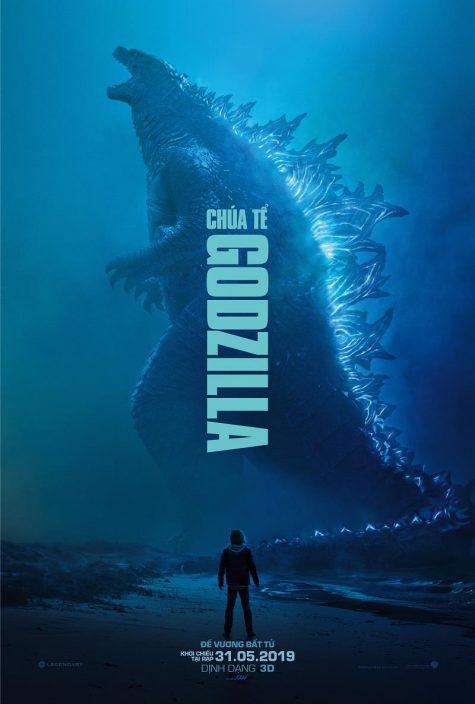 phim hành động chúa tể Godzilla.