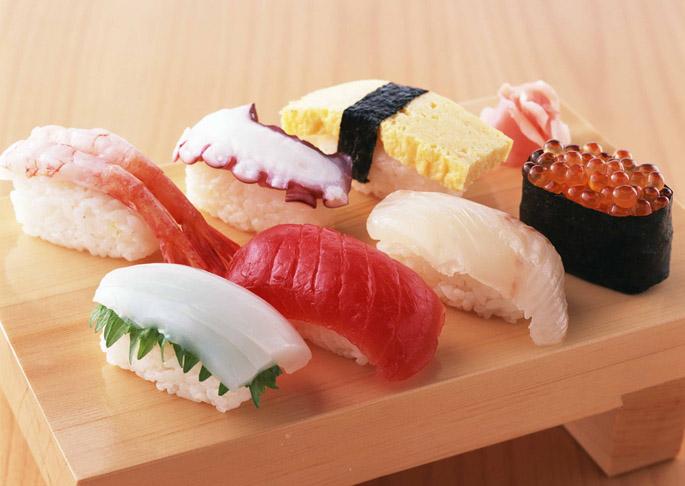 thức ăn nhanh-nigiri sushi