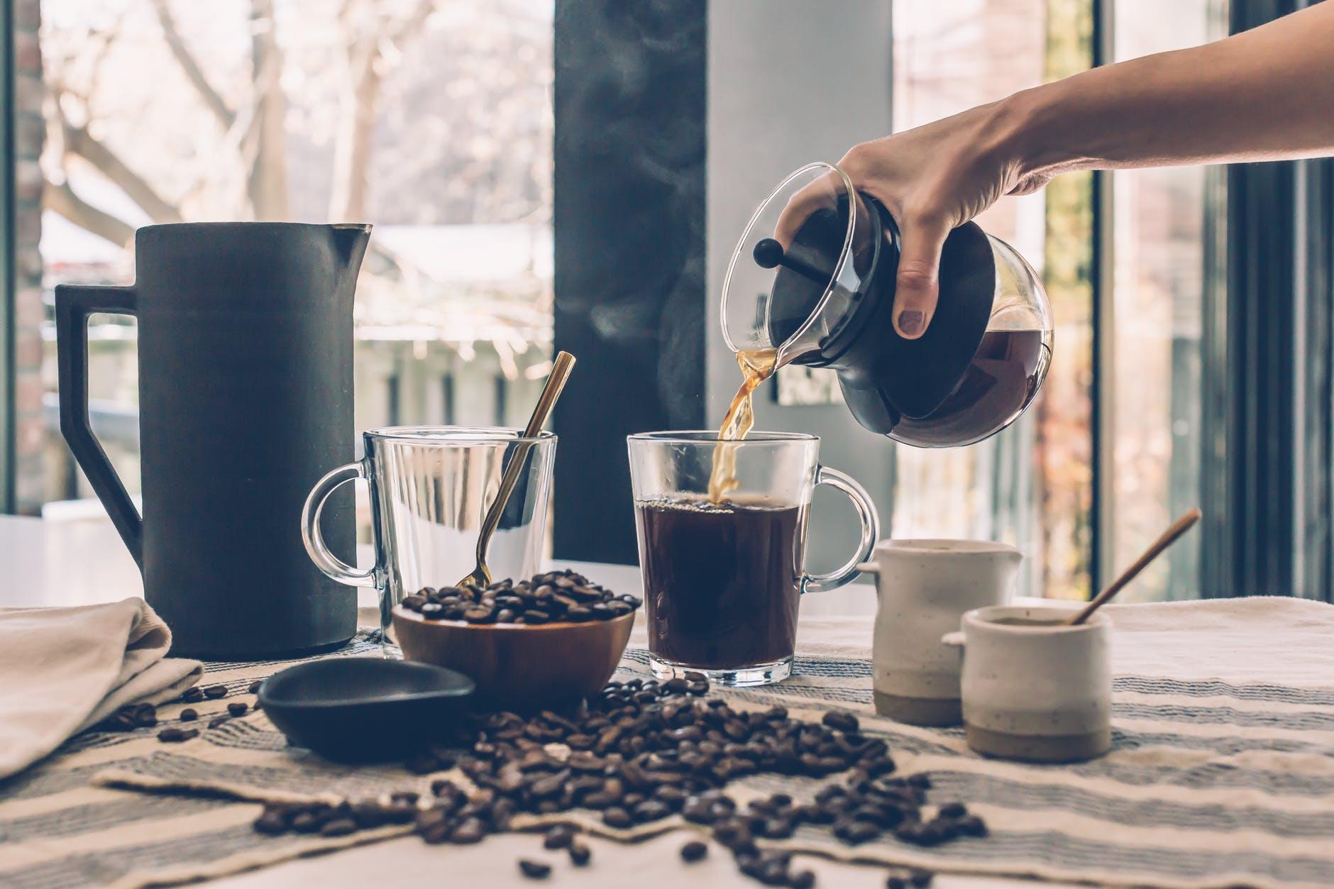 tác hại của caffeine cách thức pha cà phê