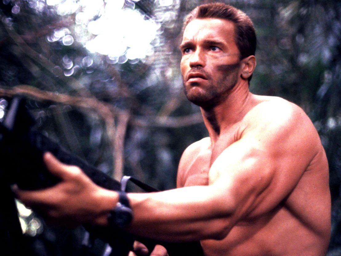 Ngôi sao Arnold Schwarzenegger trong Predator