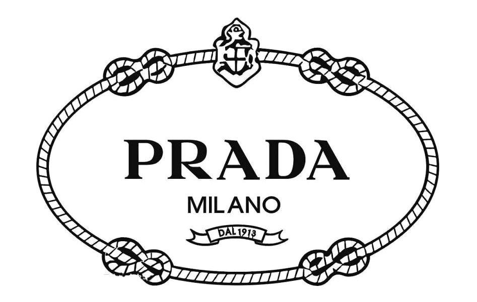 logo thương hiệu prada nguyên bản