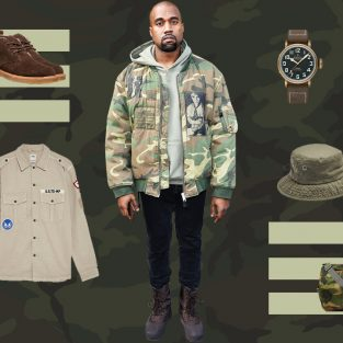"""Thời trang quân đội: Tạo dựng chất """"lính"""" trong tiết giao mùa"""