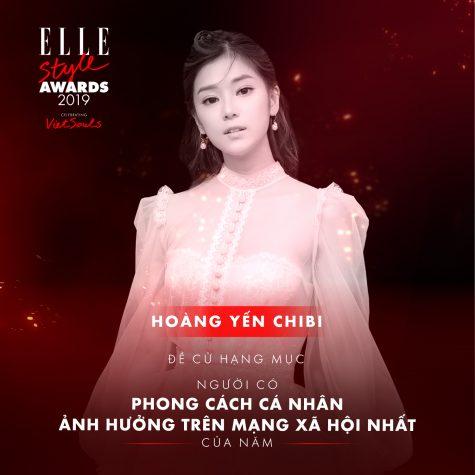 ESAs ELLE Man Hoàng Yến Chibi