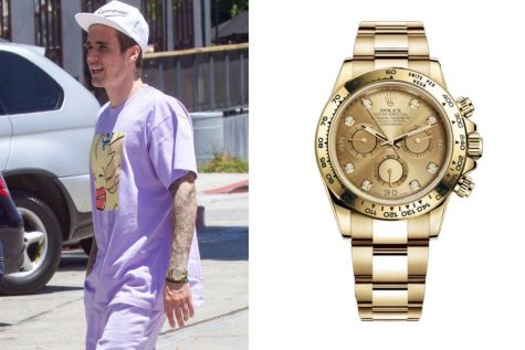 Đồng hồ nam cao cấp của sao (22 - 31/7/2019): Justin Bieber với Rolex Daytona, Chris Pratt lựa chọn Cartier Santo