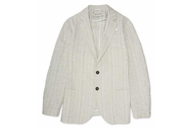 áo khoác nam không cấu trúc Oliver Spencer