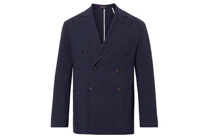 áo khoác nam không cấu trúc Rubinacci