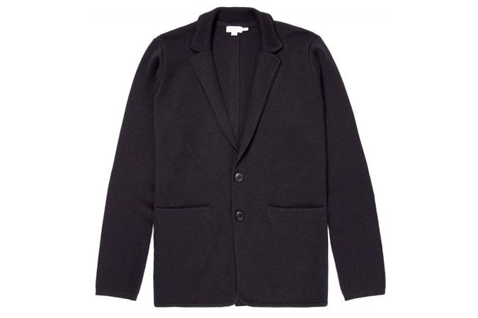 áo khoác nam không cấu trúc Sunspel