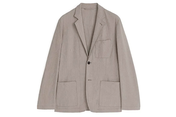 áo khoác nam không cấu trúc arket