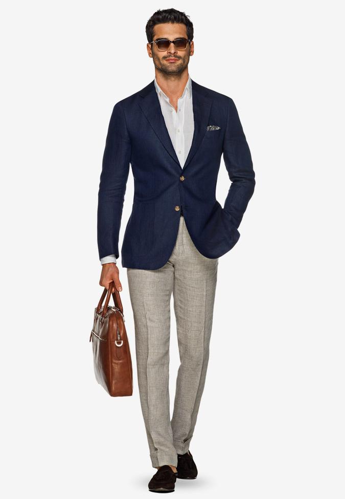 áo khoác blazer không cấu trúc theo phong cách smart