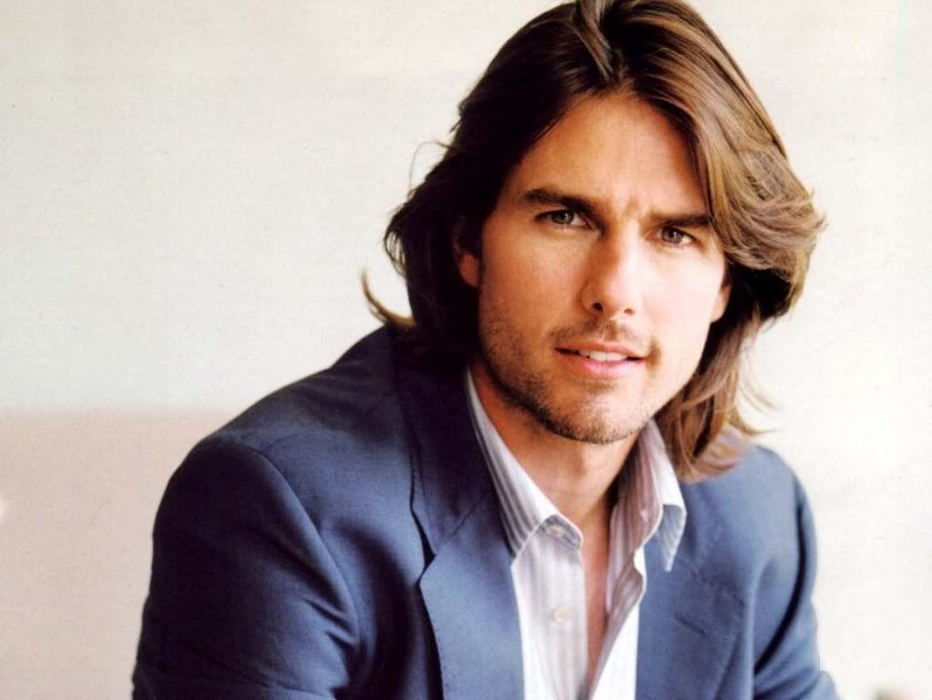 mái tóc dài của diễn viên tom cruise