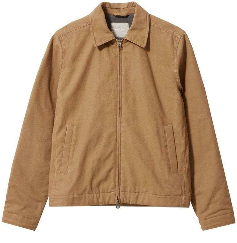 mẫu áo khoác nam Everlane Filled Canvas Jacket