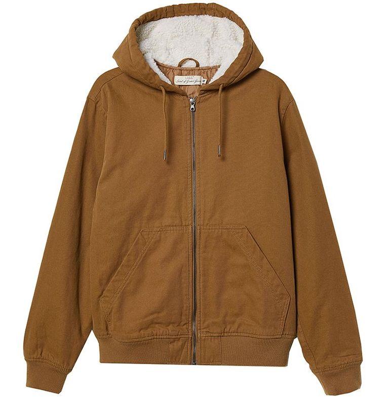 mẫu áo khoác nam H&M Padded Jacket