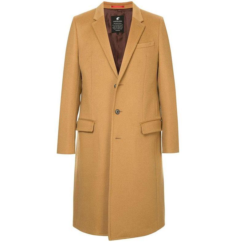 mẫu áo khoác nam Loveless Single-Breasted Coat