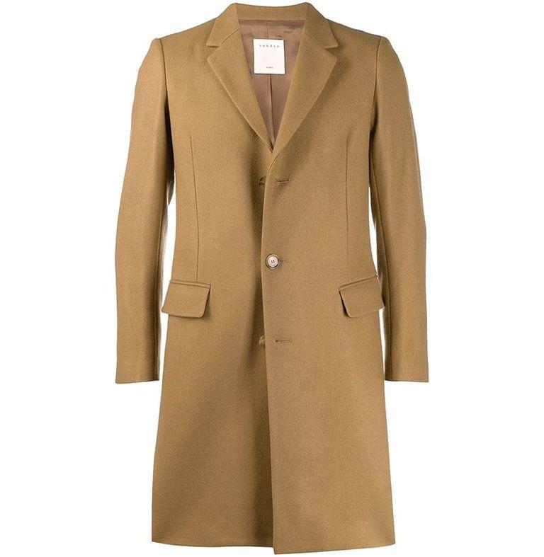mẫu áo khoác nam Sandro Paris Apollo Coat