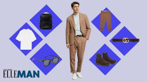 ELLE Man Style Calendar: Khơi dậy phong cách cổ điển từ quần lưng cao nam