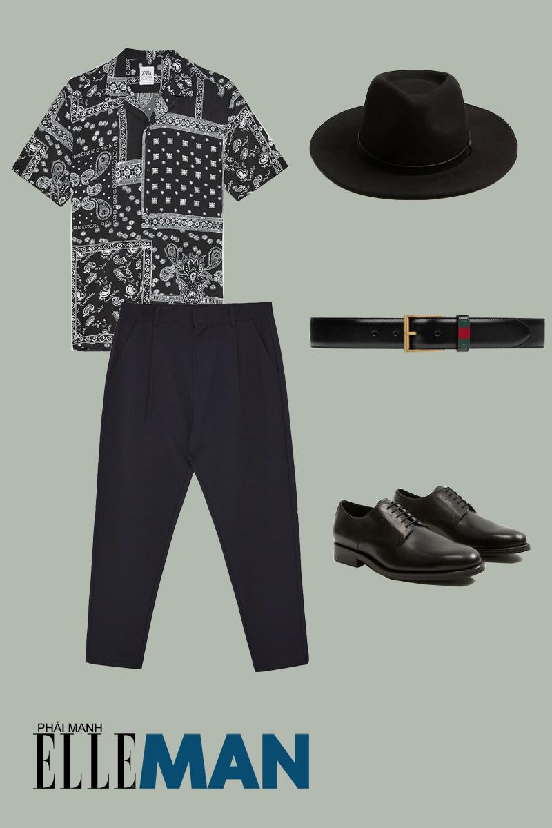 quần lưng cao - outfit 1