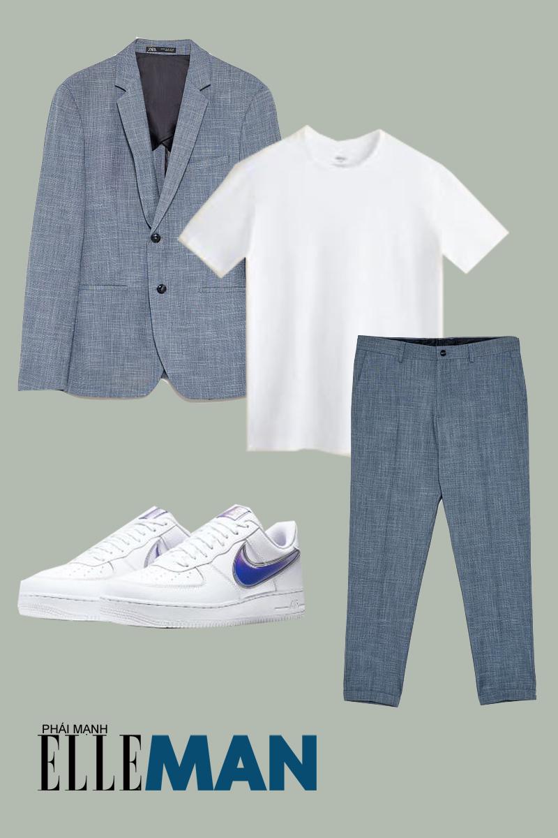quần lưng cao - outfit 2