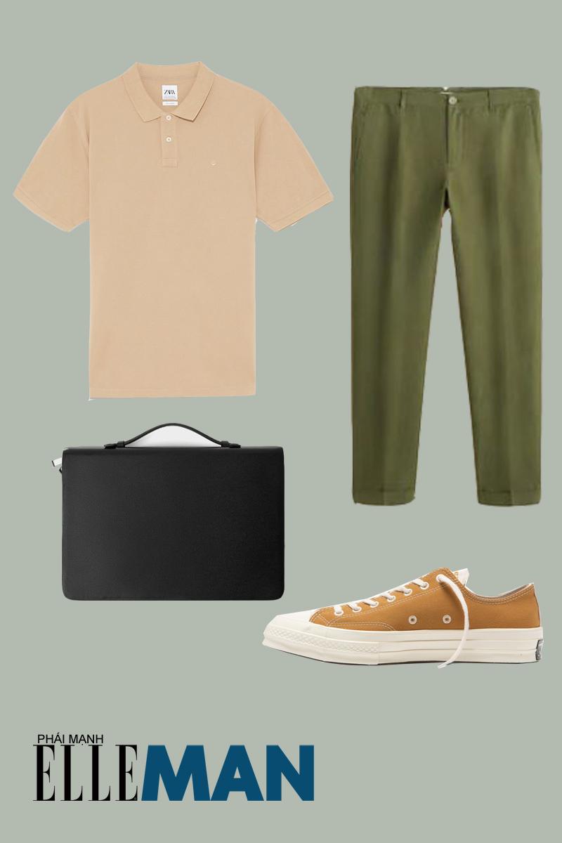 quần lưng cao - outfit 3