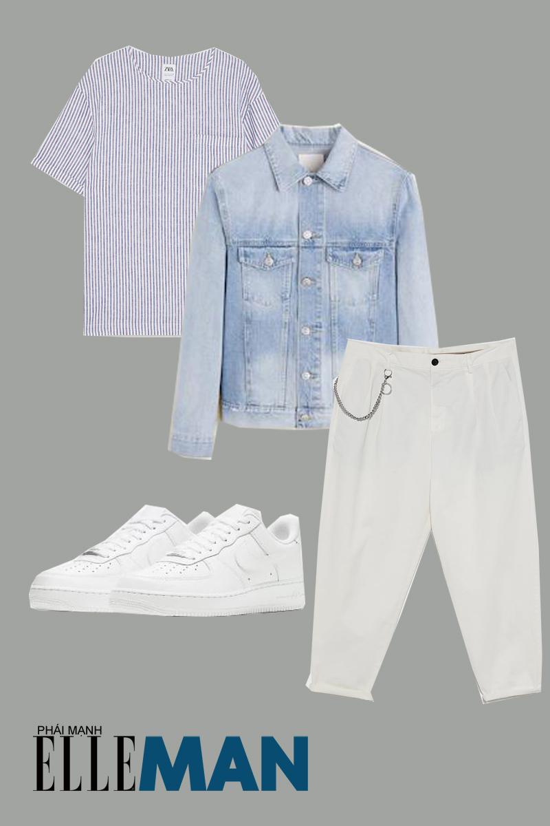 quần lưng cao - outfit 4